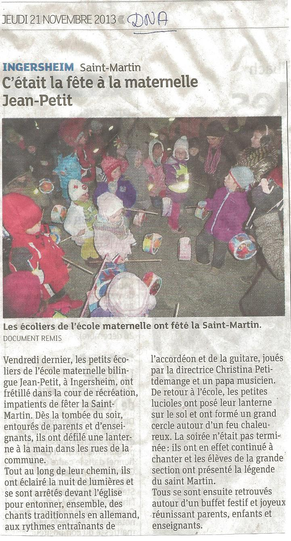 2013 dna saint martin
