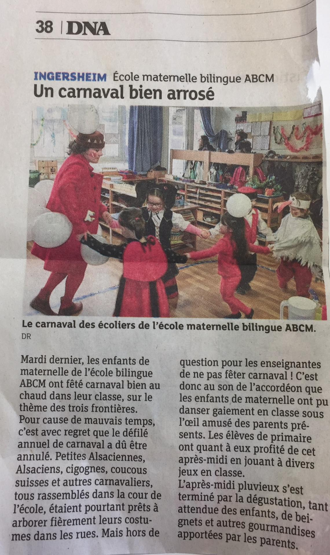 Article dna carnaval 08 03 2017